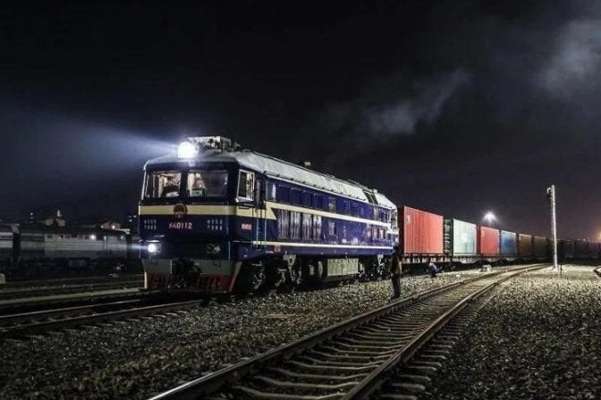 FVL export train China Europe